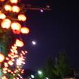 月とちょうちん